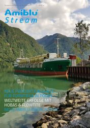 Amiblu Stream Magazin Deutsch, Oktober 2018 Cover