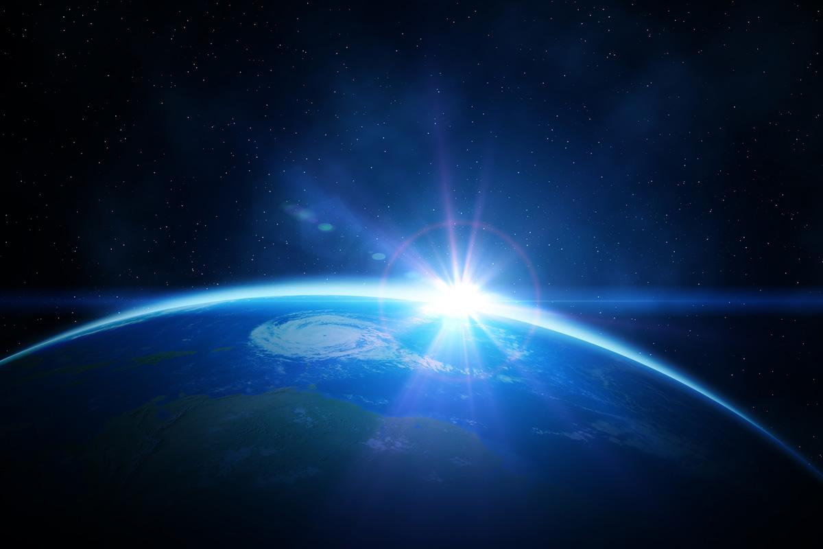 Planet-Earth-sunrise