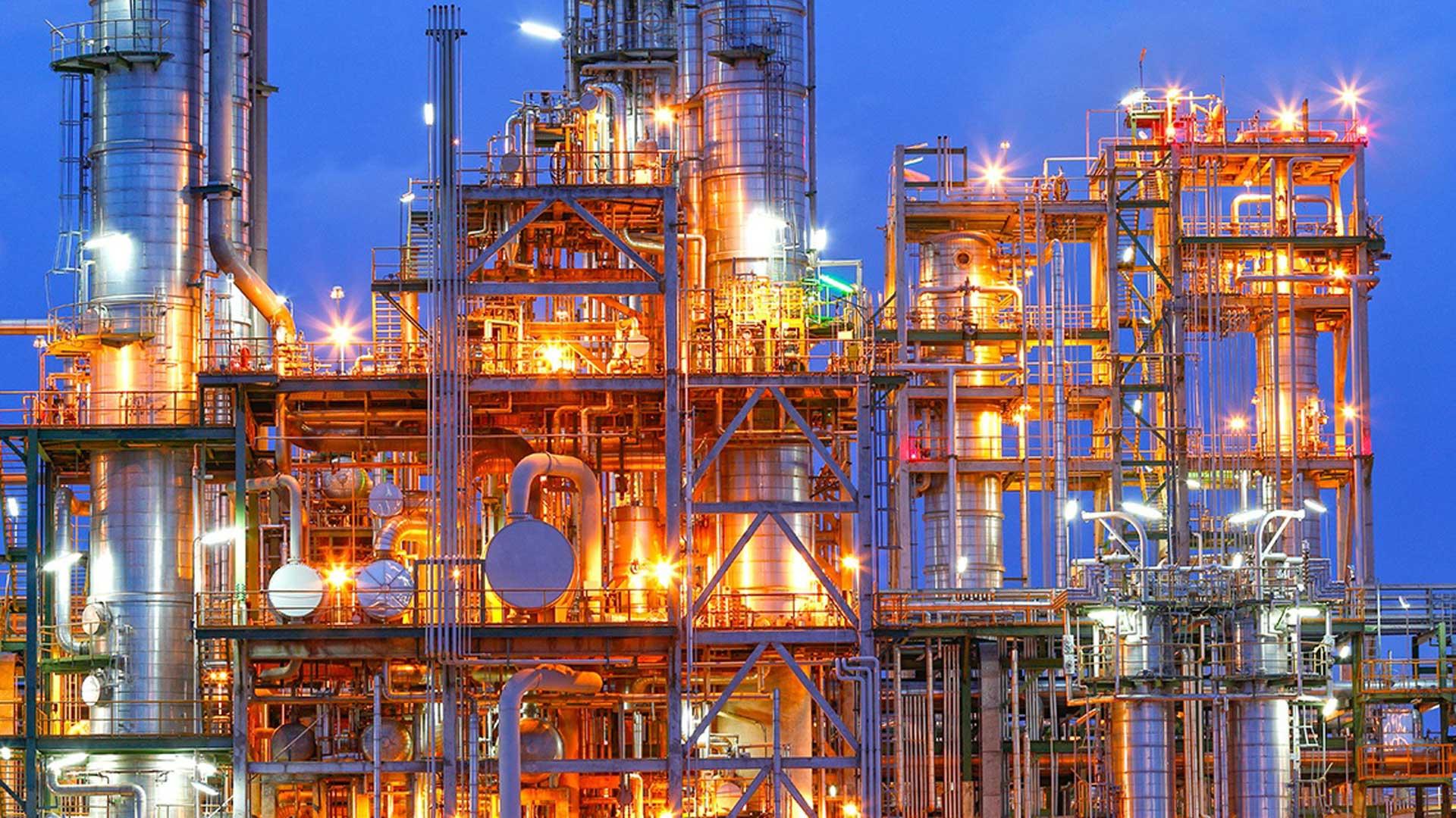 Chemical-plant