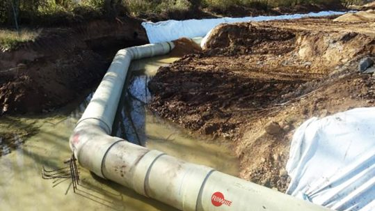 Drinking-water-Flowtite-GRP-pipe-Burgos-Spain