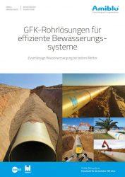 Amiblu Bewässerungsrohrsysteme Broschürencover