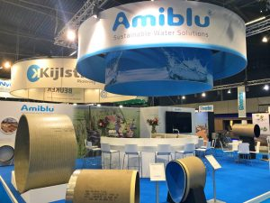 Amiblu Booth at InfraTech 2019 in Rotterdam