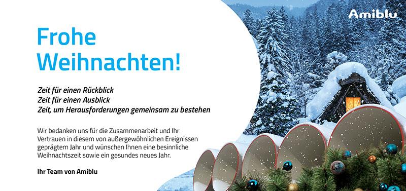 Amiblu Christmas Card DE