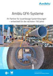 Faltblatt Amiblu GFK-Systeme Cover