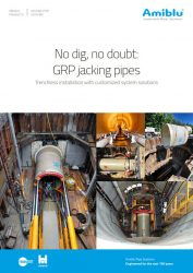 Amiblu jacking pipes brochure cover