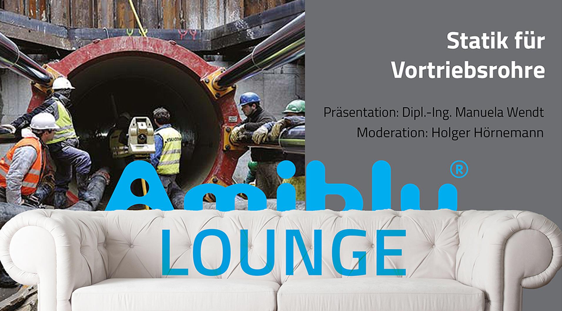 Amiblu Lounge Statik für Vortriebsrohre