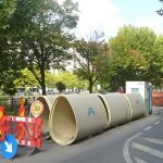 Amiblu NC Line pipes in Bucharest, Romania