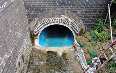 The finished Amiblu NC Line sewer features perfect structural stability and corrosion resistance