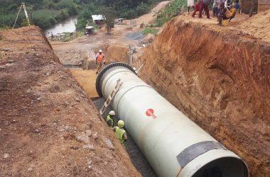 Amiblu penstock for hydropower plant in Western Uganda