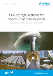 Amiblu Potable Water Tanks brochure cover