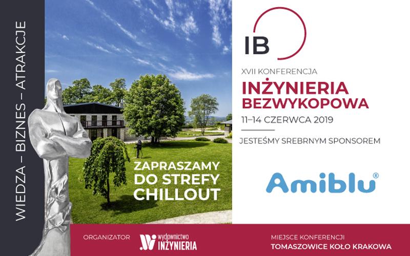 Amiblu Srebrnym Sponsorem Konferencji INŻYNIERIA Bezwykopowa