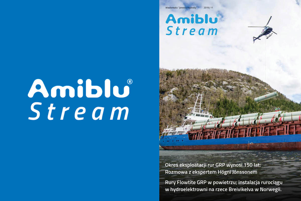 Amiblu Stream Gazetka Cover