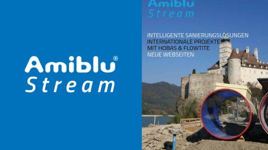 Amiblu Stream Magazin April 2019, Newsmeldung, Cover