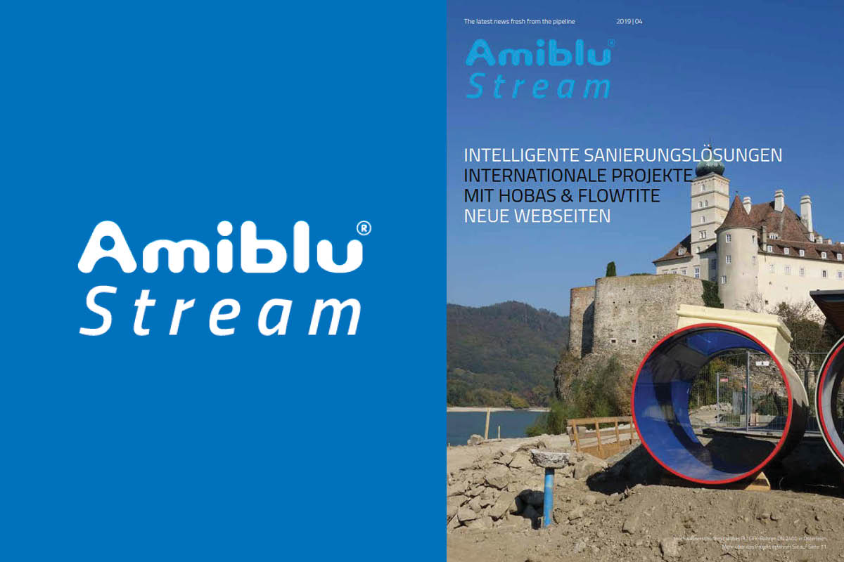 Amiblu Stream Magazin April 2019, Newsmeldung, Cover