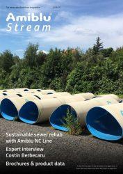 Amiblu Stream Magazine July 2019, cover