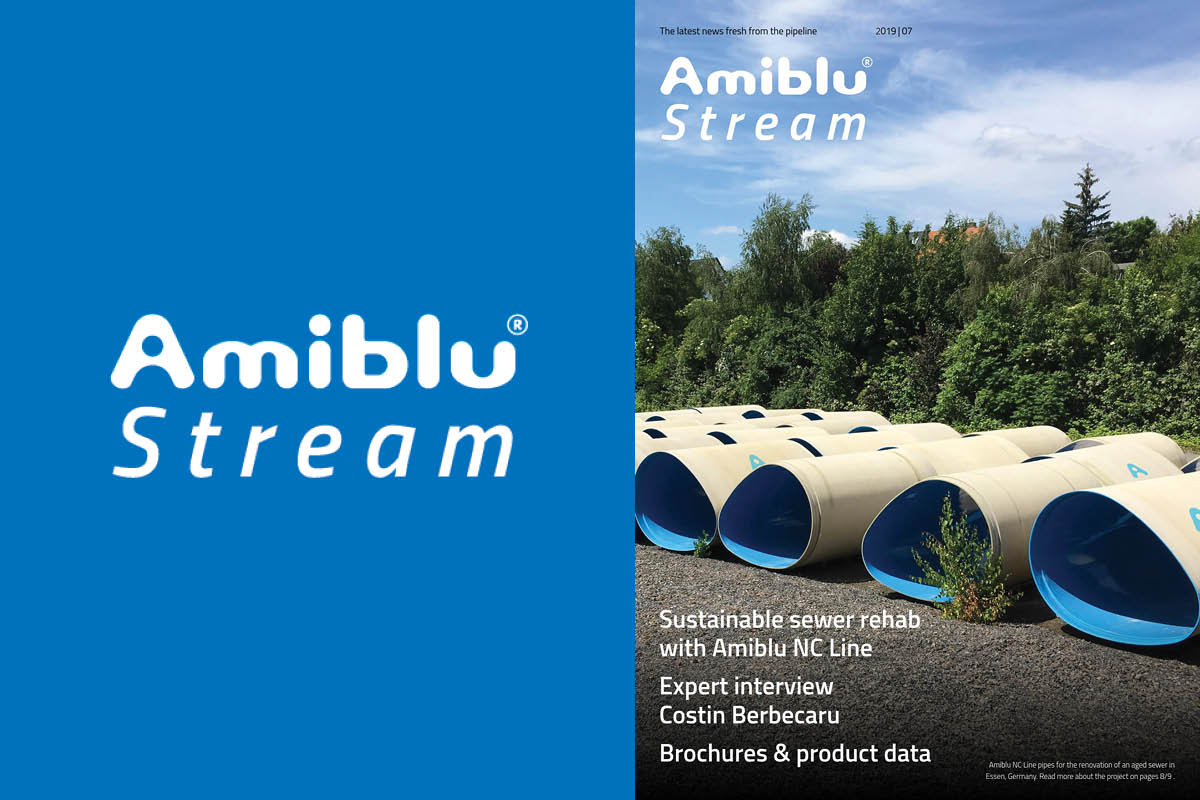 Amiblu Stream July 2019, cover
