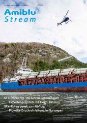 Amiblu Stream Magazine November 2019, Cover Deutsch