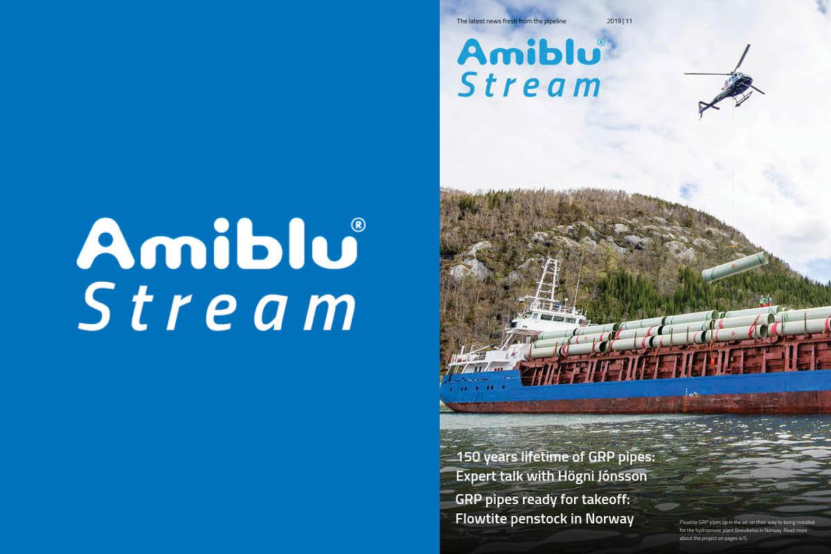 Amiblu Stream Magazine November 2019, Cover