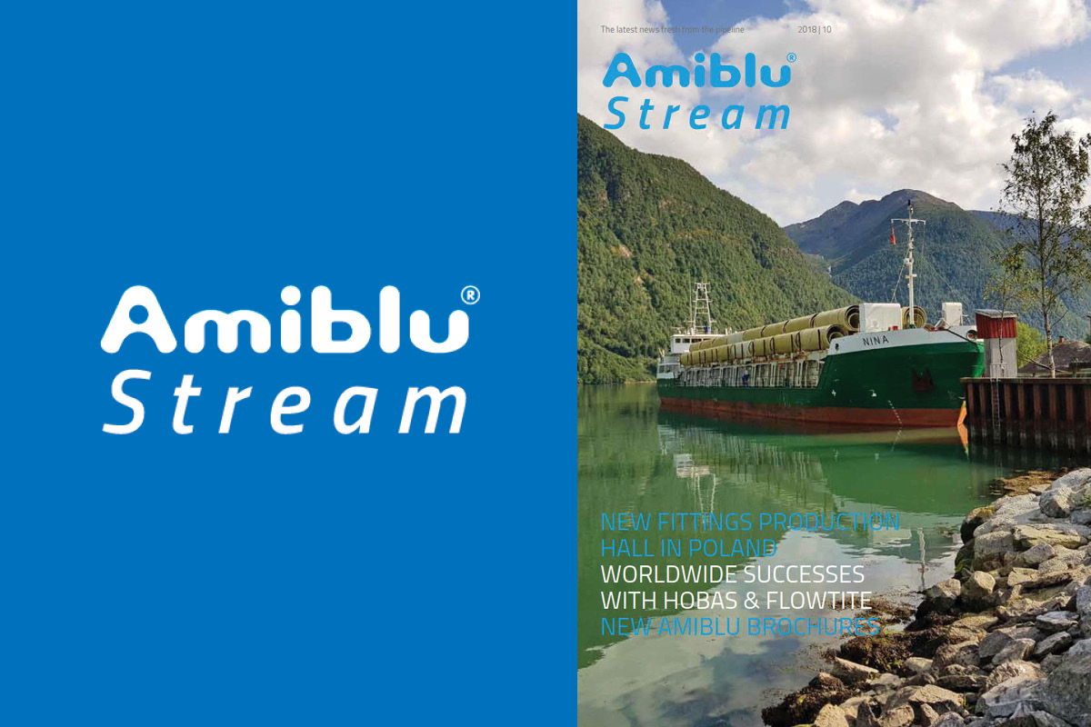 Amiblu Stream Magazine cover