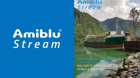 Amiblu Stream Magazin, Oktober 2018, Cover