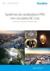 Systemes de canalisations PRV non-circulaires NC Line Cover
