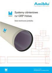 Systemy ciśnieniowe rur GRP Hobas