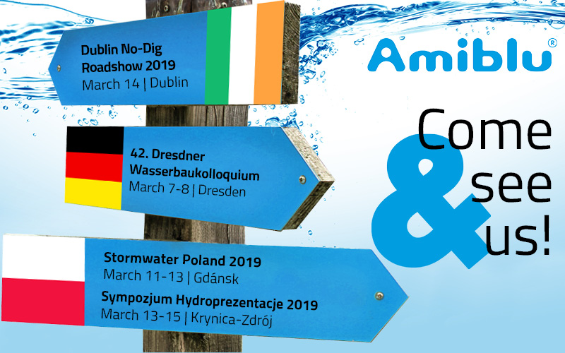 Amiblu upcoming events