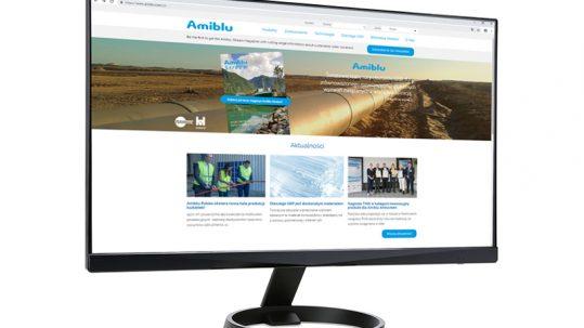 monitor screen Amiblu website Polish