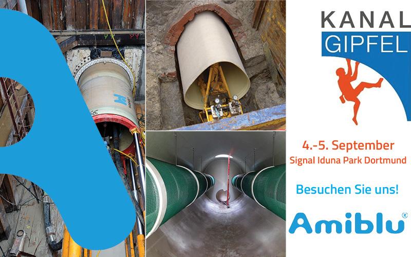 Besuchen Sie Amiblu beim Kanalgipfel 2019 in Dortmund