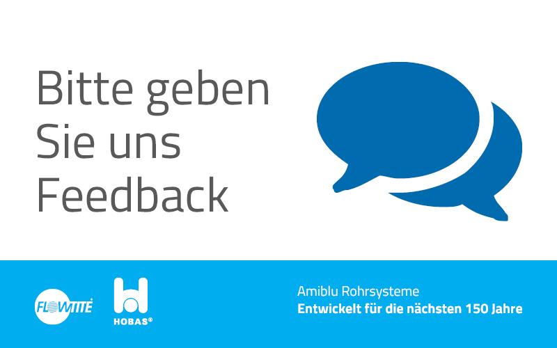 Feedback Amiblu Kundenumfrage
