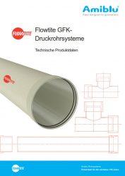 Flowtite Technische Produktdaten - Druckrohrsysteme