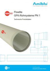 Flowtite Technische Produktdaten PN1 Cover