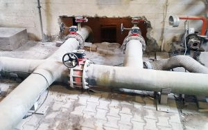 Flowtite drainage pipe system DN 250