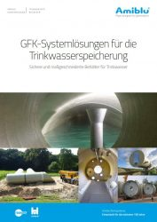 GFK Systemloesungen Trinkwasserspeicherung Cover