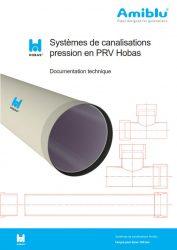 Documentation technique Systèmes de canalisations pression en PRV Hobas Cover