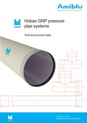 Hobas Technical Data Pressure Pipes, Cover