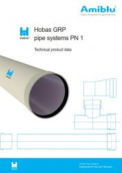Hobas Technical product data PN1 Cover