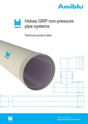 Hobas Technical product data Cover