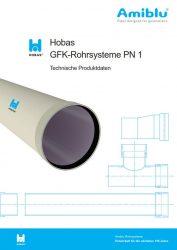 Hobas Technische Produktdaten PN 1 Cover