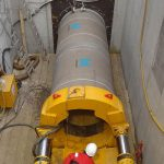 Hobas jacking pipe for Voestalpine in Donawitz, Austria