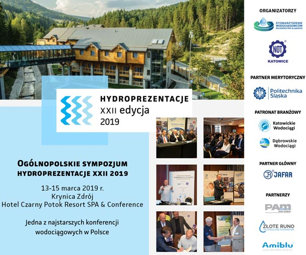 Amiblu Partnerem Konferencji Hydroprezentacje 2019
