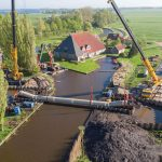 Extension of irrigation network with Hobas and Flowtite GRP pipes in Friesland, Netherlands