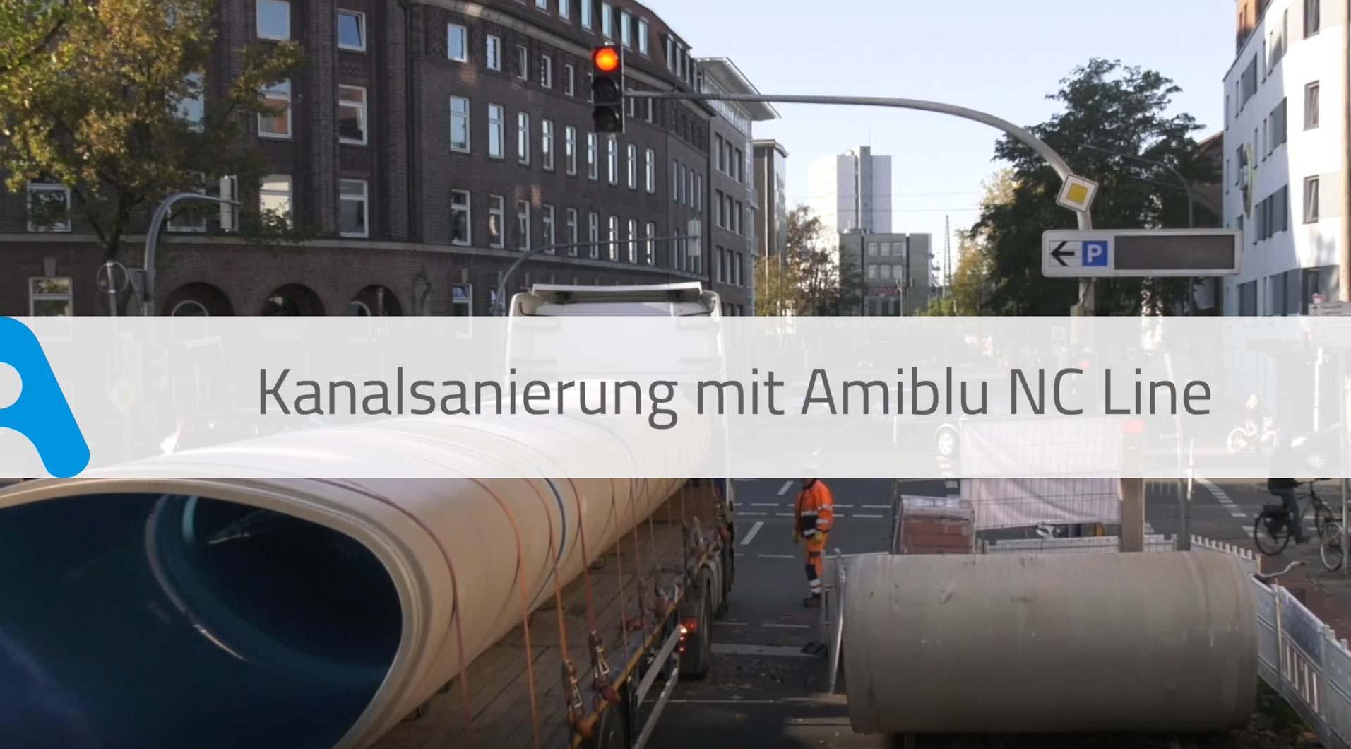 Kanalsanierung mit Amiblu NC Line Video