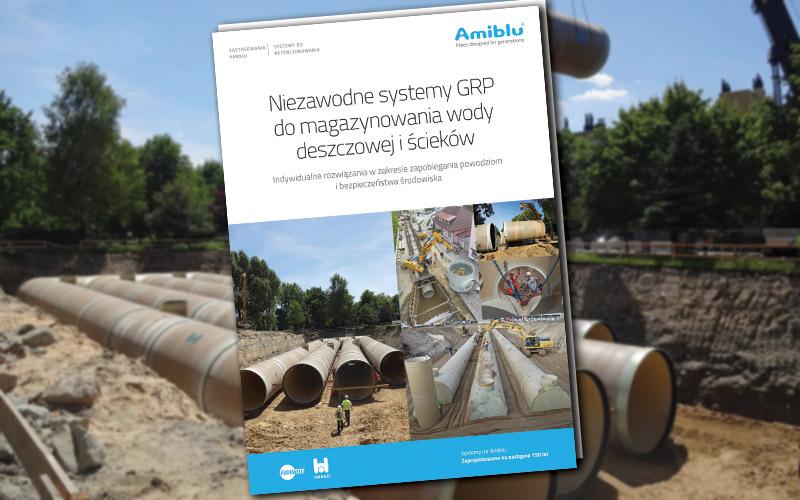 Katalog Amiblu system magazynowania wody deszczowej