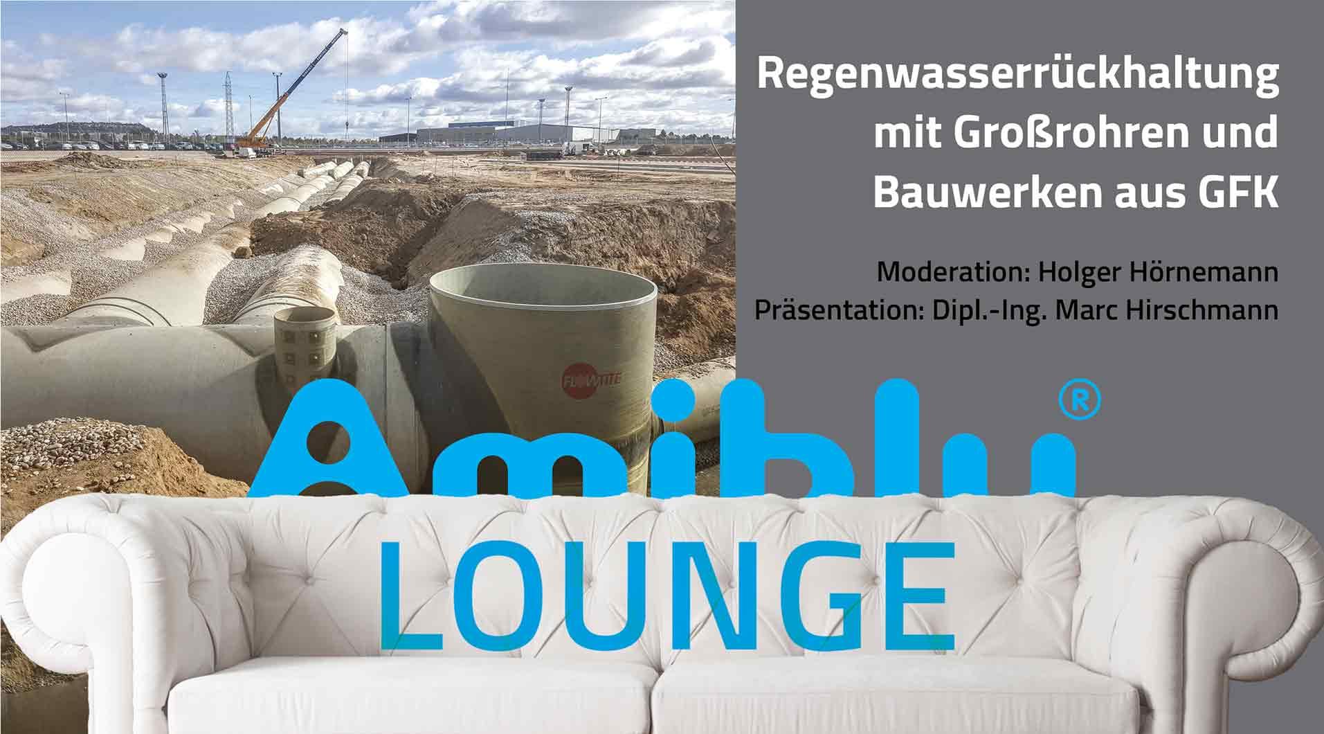 Lounge Regenwasserrueckhaltung