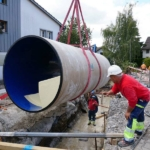 Multi-purpose top-performance PU line culvert for Switzerland