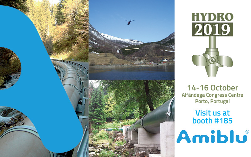Visit Amiblu at the Hydro 2019 in Porto, Portugal