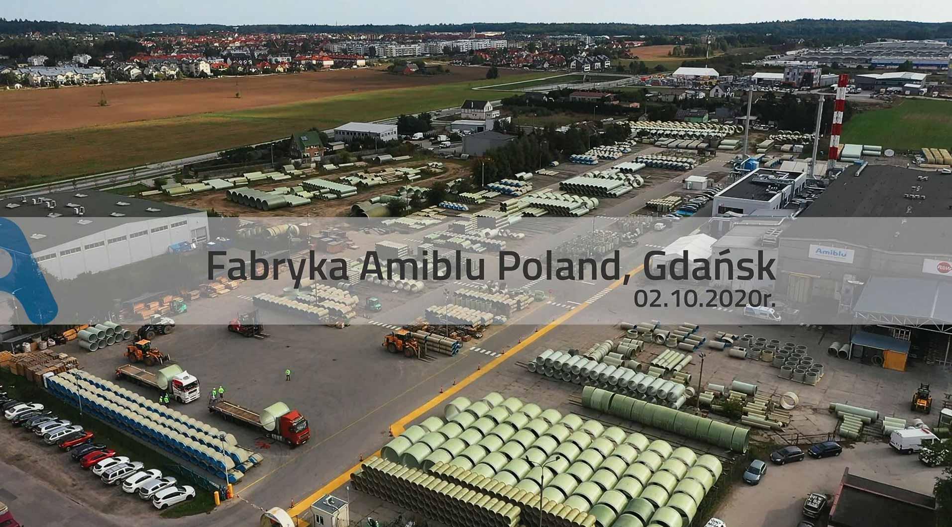 Witamy w fabryce Amiblu Poland w Gdansku