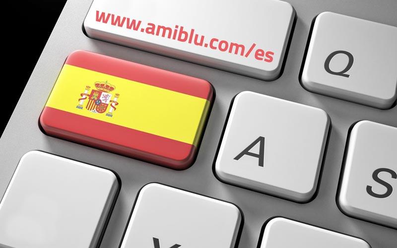 keyboard www.amiblu.com/es