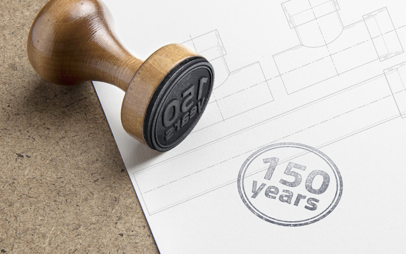 stamp 150 years